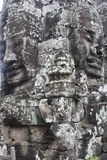 Bayon Temple. Faces at Bayon Temple in Siem Reap near Angkor Wat Royalty Free Stock Photos