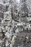 Bayon Temple. Faces at Bayon Temple in Siem Reap near Angkor Wat royalty free stock images