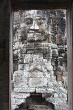 Bayon Temple. Faces at Bayon Temple in Siem Reap near Angkor Wat Stock Images