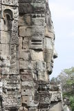 Bayon Temple. Faces at Bayon Temple in Siem Reap near Angkor Wat royalty free stock photo