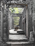 Bayon Temple ancient entrance Stock Images