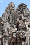 Bayon temple in Angkor Stock Image