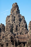 Bayon Temple in Angkor Stock Photography