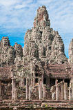 Bayon Temple of Angkor. The Bayon Temple inside the Angkor Wat complex, Cambodia Royalty Free Stock Photos