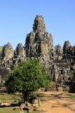 Bayon temple, Angkor area, Siem Reap, Cambodia Stock Photos