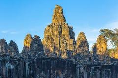Bayon temple in Angkor, Cambodia Stock Photography