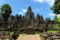 Bayon temple of Angkor Stock Image