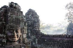 Bayon Temple. Angkor. Siem Reap. Cambodia Royalty Free Stock Photo