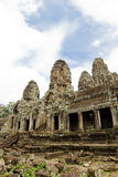 Bayon  Temple. Angkor, Siem Reap, Cambodia. Stock Images