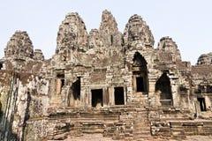 Bayon Temple, Angkor Thom Royalty Free Stock Photo