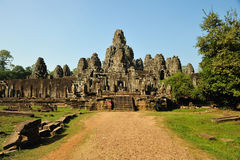 Bayon Temple at Angkor Thom, Angkor Royalty Free Stock Photography