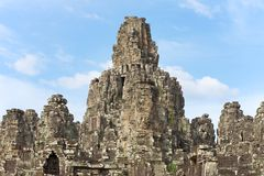 Bayon temple, Angkor Thom - Cambodia Royalty Free Stock Images
