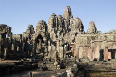 Bayon Temple, Angkor Thom, Cambodia Royalty Free Stock Photos