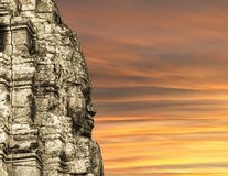 Bayon Temple Angkor Thom  Cambodia Royalty Free Stock Photo