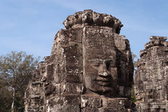 Bayon Temple, Angkor Thom. Cambodia Royalty Free Stock Images