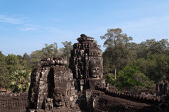 Bayon Temple, Angkor Thom. Cambodia Stock Photo