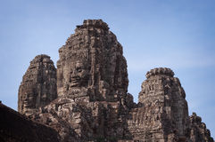 Bayon Temple, Angkor Thom. Cambodia Royalty Free Stock Photo