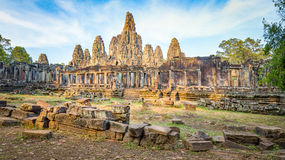 Bayon temple in Angkor Thom Royalty Free Stock Photos