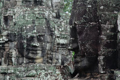 Bayon Temple in Angkor Thom Royalty Free Stock Images