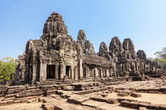 Bayon temple at Angkor Thom, Siem Reap, Cambodia. Royalty Free Stock Photos