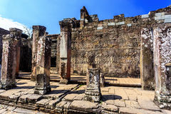 Bayon temple in Angkor Thom, Siem Reap, Cambodia Royalty Free Stock Images