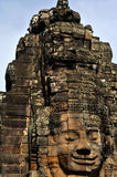 The bayon temple in the angkor wat Royalty Free Stock Photos