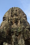 Bayon temple in Angkor Wat ,Cambodia Royalty Free Stock Photography