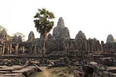 Bayon temple Stock Photo