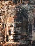 Bayon Temple in Angkor Wat, Cambodia Stock Photography