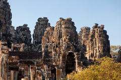 Bayon Temple in Angkor Wat, Cambodia Stock Images