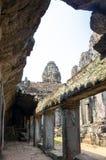 Bayon temple at Angkor Wat complex Royalty Free Stock Photography