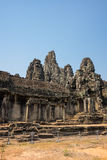 Bayon temple at Angkor Wat complex Stock Image