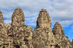 Bayon Temple - Angkor Wat - Siem Reap - Cambodia Stock Images