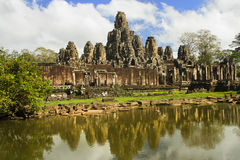 Bayon Temple Architecture Stock Images