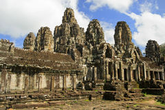 Bayon Temple Architecture Stock Photography