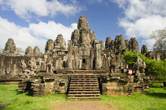 Bayon Temple in Cambodia Royalty Free Stock Images
