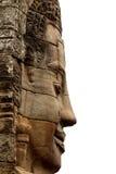 Bayon Temple, Cambodia. Stone Face on Bayon Temple at Angkor Thom, Cambodia royalty free stock photos