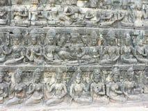 Bayon temple, Cambodia. royalty free stock photo