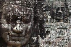 Bayon temple. Cambodia, Angkor, Bayon temple with many faces Royalty Free Stock Photography