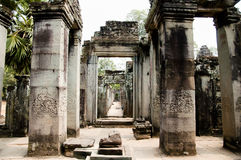 Bayon Temple - Cambodia Royalty Free Stock Images
