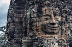 Bayon temple combodia Royalty Free Stock Photography
