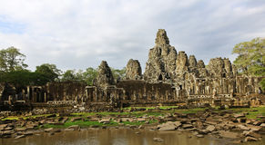 Bayon temple complex at Siem Reap, Cambodia Stock Image