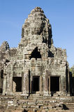 Bayon Temple detail, Cambodia Stock Image