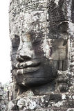 Bayon temple faces Royalty Free Stock Photography