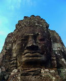 The Bayon temple. Faces of the Bayon temple in the Angkor Wat complex, Siem Reap, Cambodia Stock Images