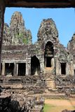 Bayon Temple. Bayon -  Khmer temple in Angkor Thom, Cambodia, Southeast Asia. UNESCO World Heritage Site stock image