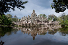 Bayon Temple in Siem Reap Royalty Free Stock Image