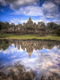 Bayon Temple in Siem Reap, Cambodia. Royalty Free Stock Photography
