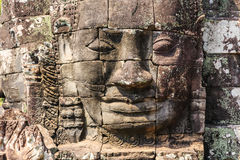 Bayon Temple. Siem Reap, Cambodia Royalty Free Stock Photos