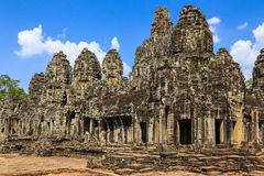 Bayon Temple. Siem Reap, Cambodia Stock Images